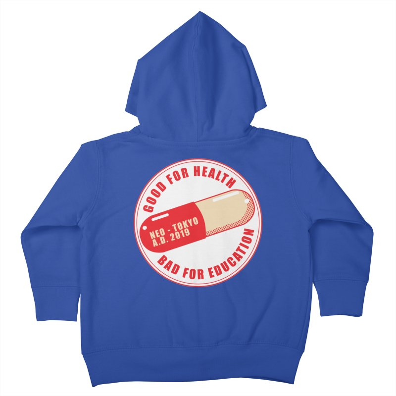 Good for Health Kids Toddler Zip-Up Hoody by darkchoocoolat's Artist Shop