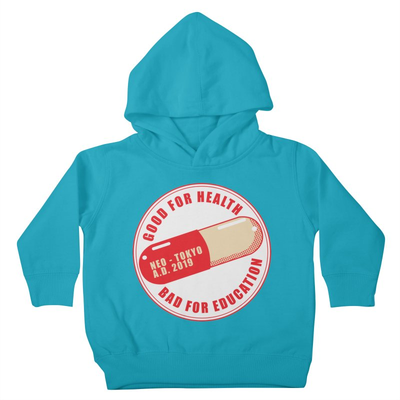 Good for Health Kids Toddler Pullover Hoody by darkchoocoolat's Artist Shop