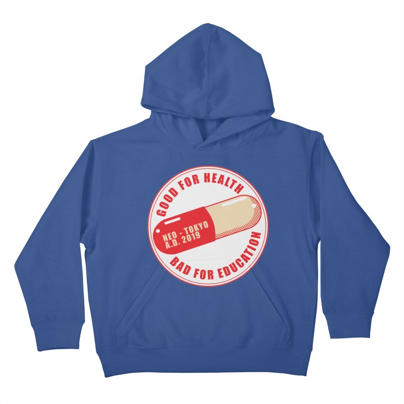 Good for Health Kids Pullover Hoody by darkchoocoolat's Artist Shop