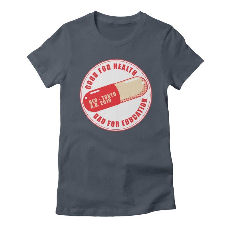 Good for Health Women's Fitted T-Shirt by darkchoocoolat's Artist Shop