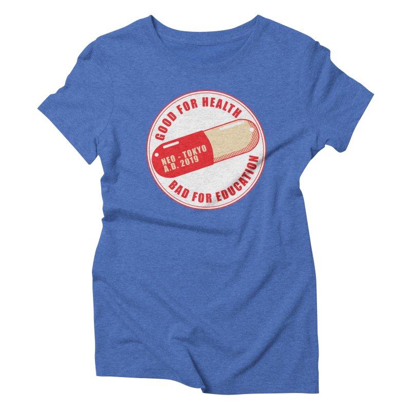Good for Health Women's Triblend T-shirt by darkchoocoolat's Artist Shop