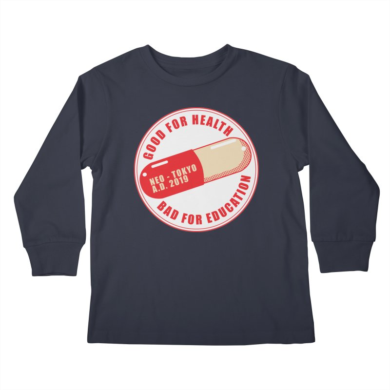 Good for Health Kids Longsleeve T-Shirt by darkchoocoolat's Artist Shop