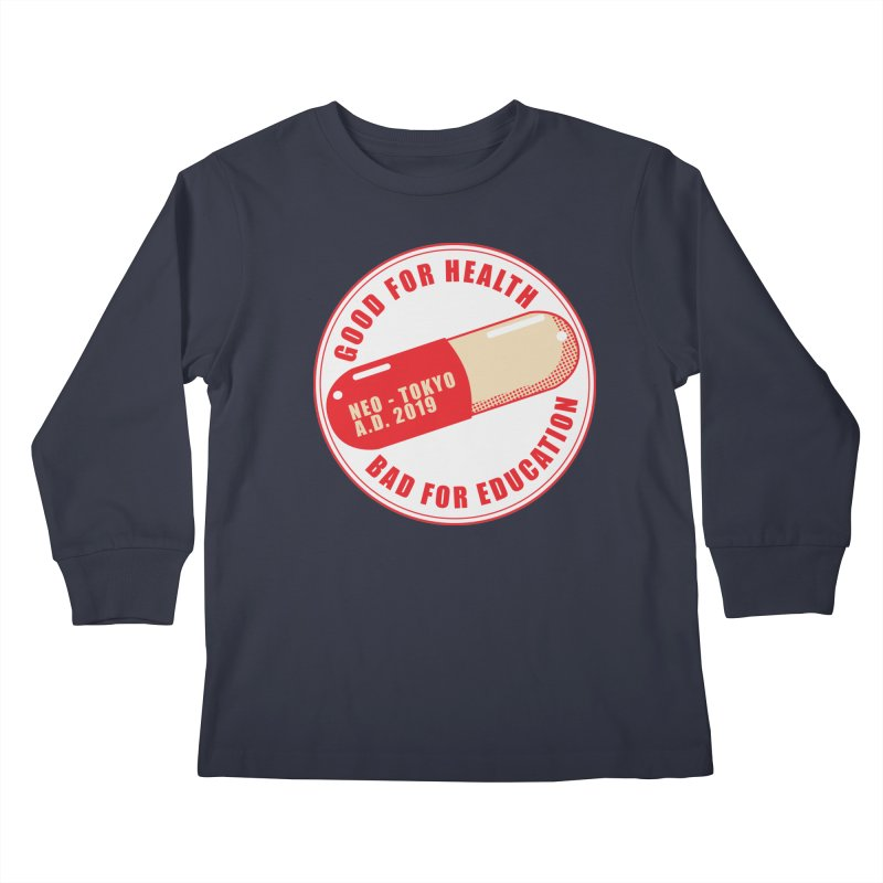 Good for Health Kids Longsleeve T-Shirt by darkchoocoolat's Artist Shop