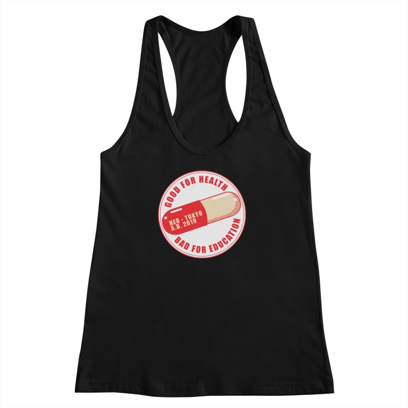 Good for Health Women's Racerback Tank by darkchoocoolat's Artist Shop