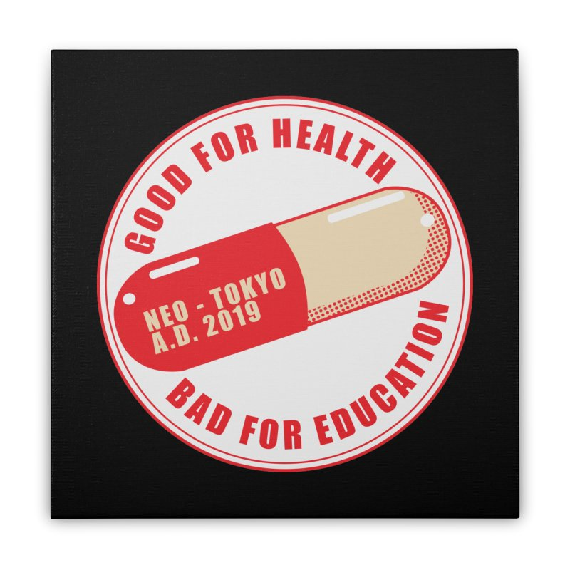 Good for Health Home Stretched Canvas by darkchoocoolat's Artist Shop