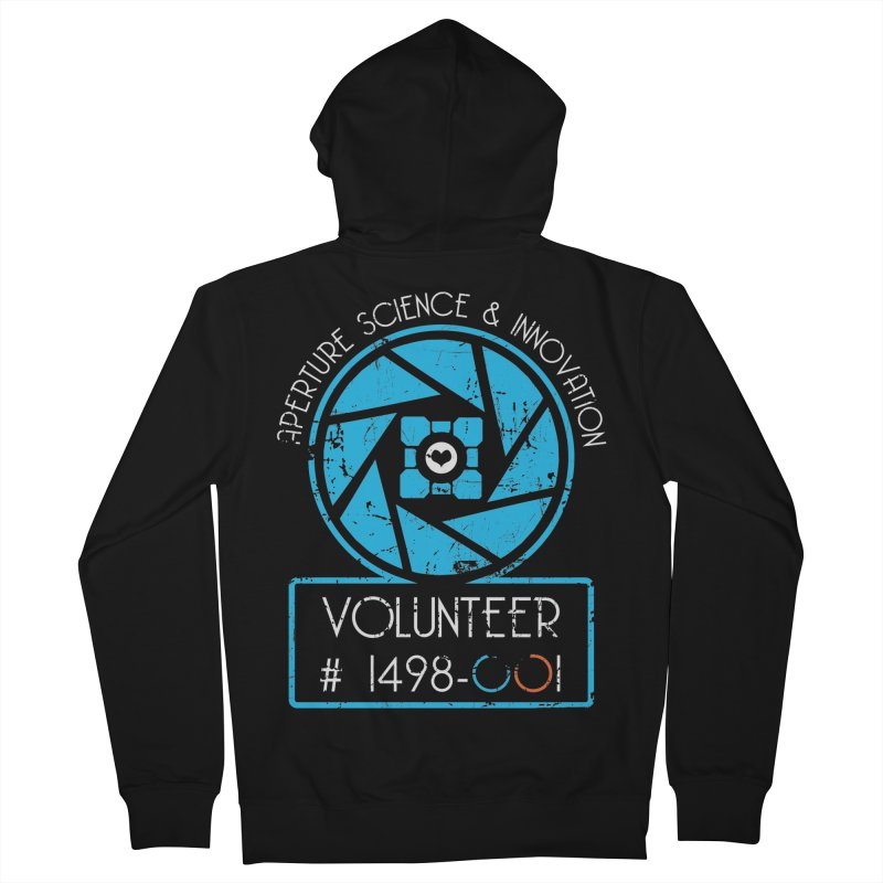 Aperture Volunteer Men's Zip-Up Hoody by darkchoocoolat's Artist Shop