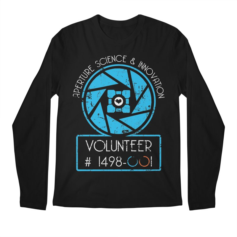 Aperture Volunteer Men's Longsleeve T-Shirt by darkchoocoolat's Artist Shop