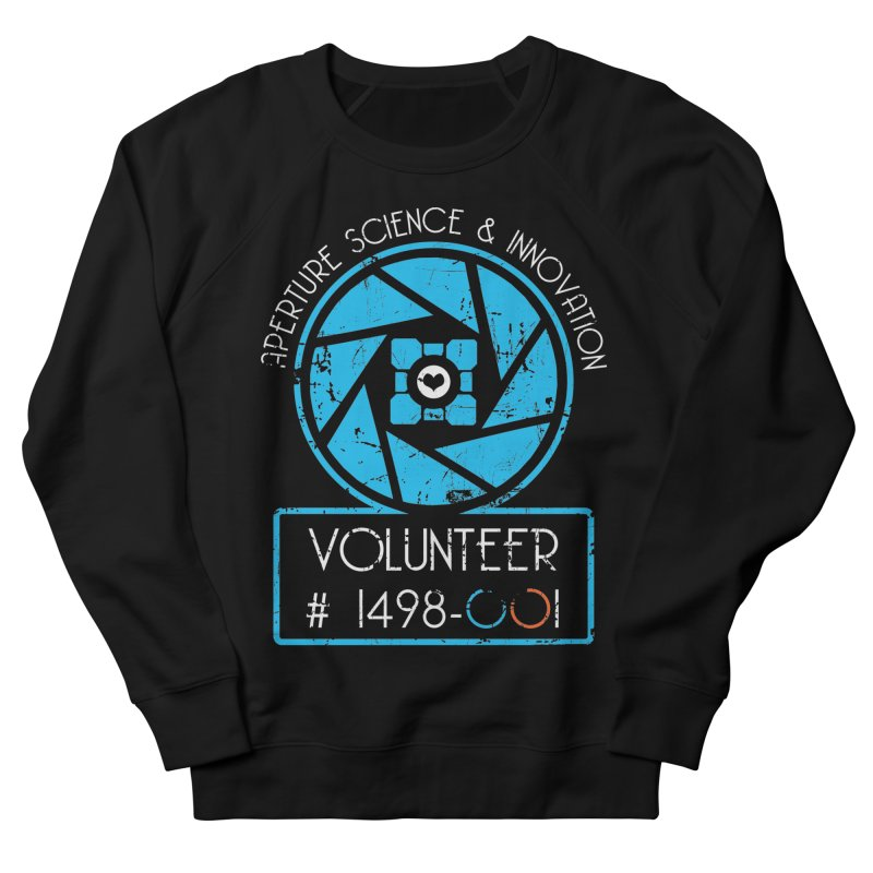 Aperture Volunteer Men's French Terry Sweatshirt by darkchoocoolat's Artist Shop