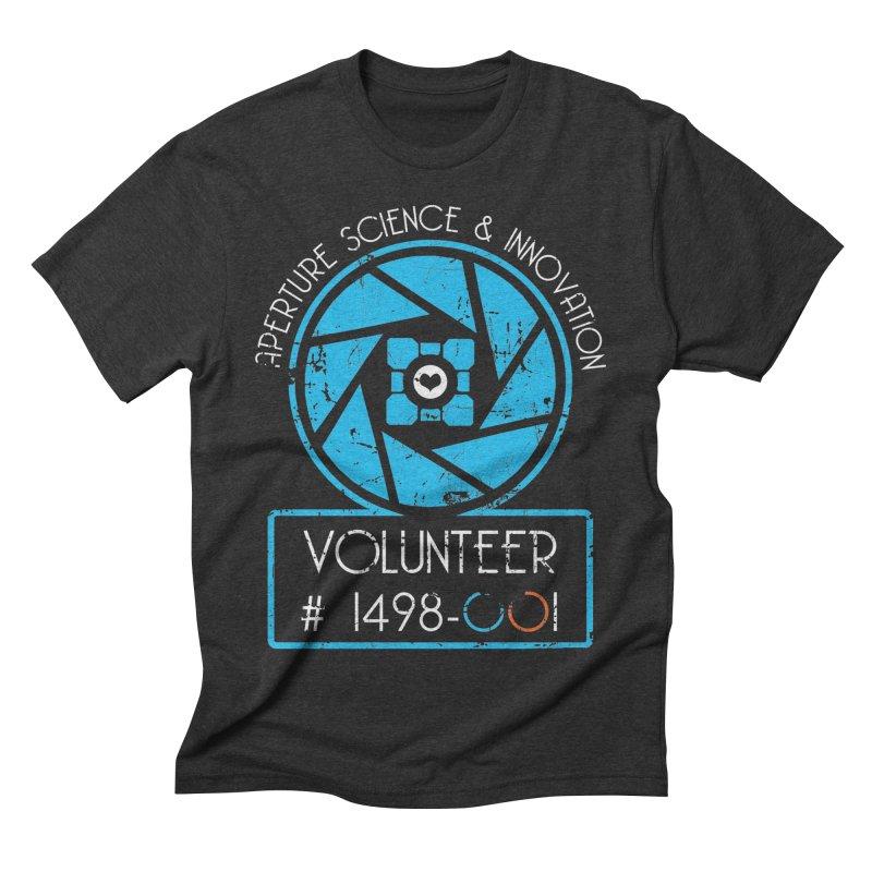 Aperture Volunteer Men's Triblend T-Shirt by darkchoocoolat's Artist Shop