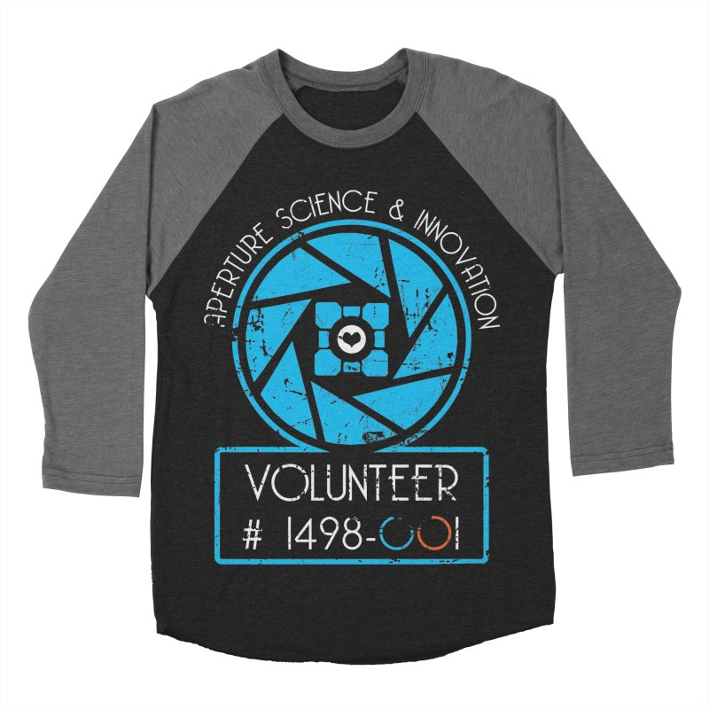 Aperture Volunteer Men's Baseball Triblend T-Shirt by darkchoocoolat's Artist Shop