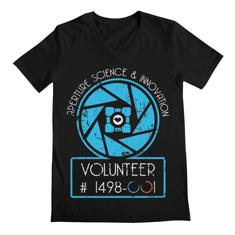 Aperture Volunteer Men's Regular V-Neck by darkchoocoolat's Artist Shop