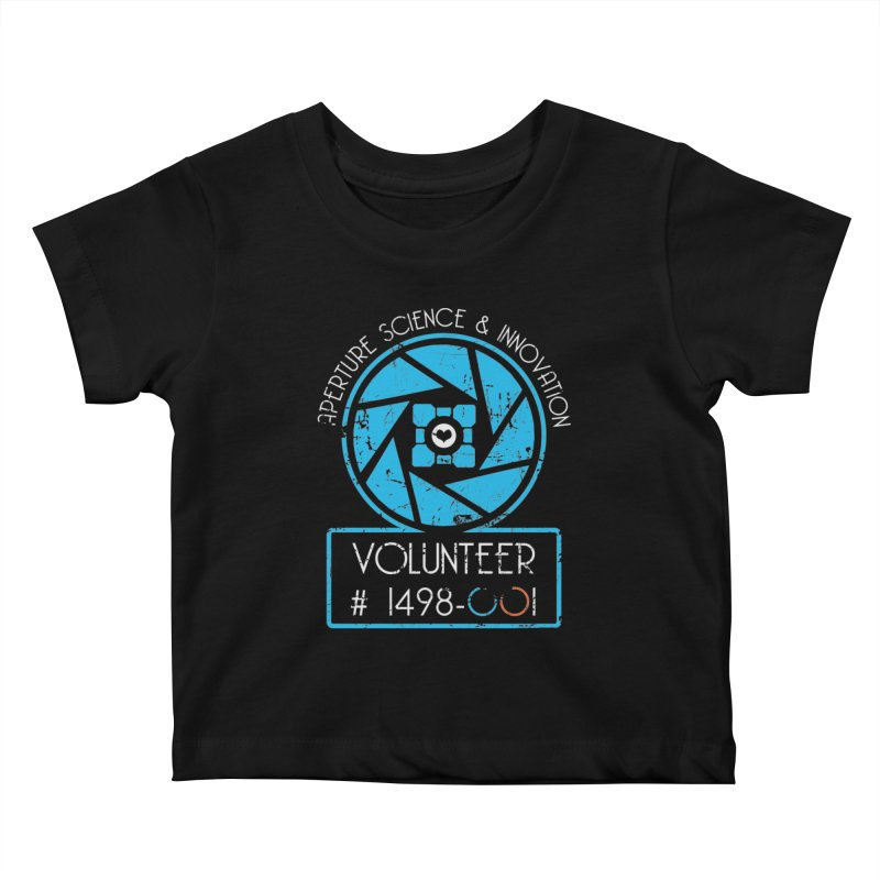 Aperture Volunteer Kids Baby T-Shirt by darkchoocoolat's Artist Shop