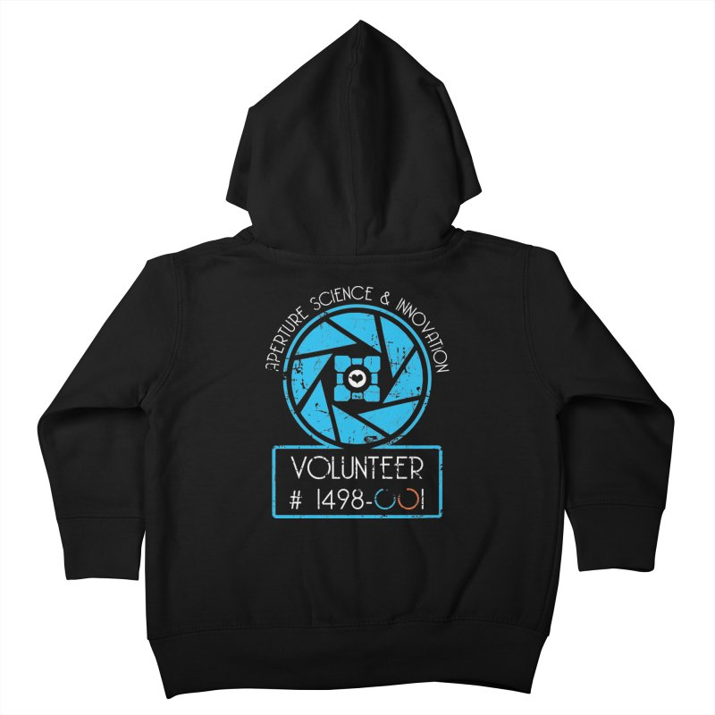 Aperture Volunteer Kids Toddler Zip-Up Hoody by darkchoocoolat's Artist Shop
