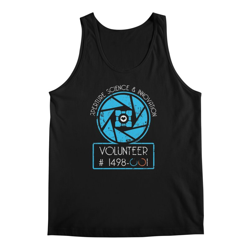 Aperture Volunteer Men's Tank by darkchoocoolat's Artist Shop