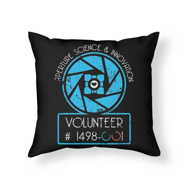 Aperture Volunteer Home Throw Pillow by darkchoocoolat's Artist Shop