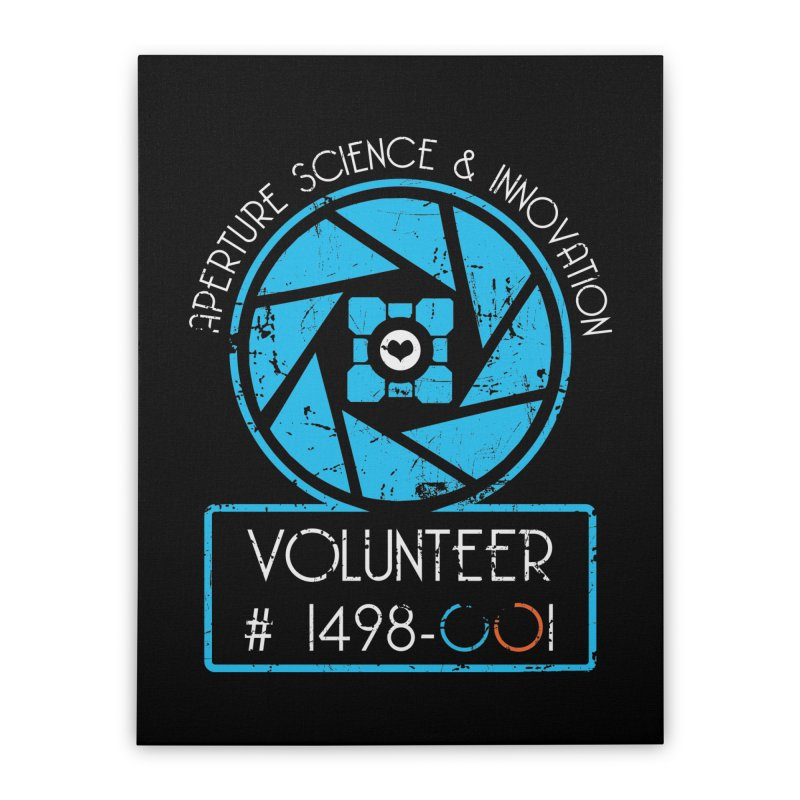 Aperture Volunteer Home Stretched Canvas by darkchoocoolat's Artist Shop