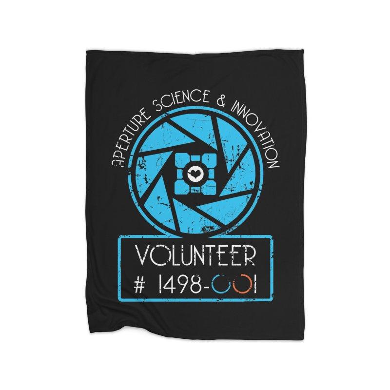 Aperture Volunteer Home Fleece Blanket Blanket by darkchoocoolat's Artist Shop