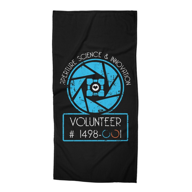 Aperture Volunteer Accessories Beach Towel by darkchoocoolat's Artist Shop