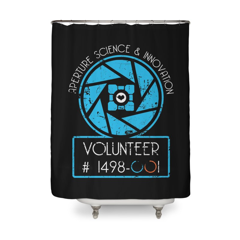 Aperture Volunteer Home Shower Curtain by darkchoocoolat's Artist Shop
