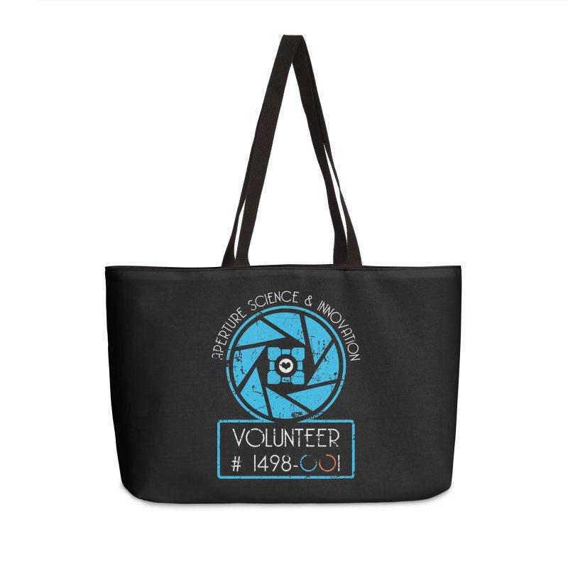Aperture Volunteer Accessories Weekender Bag Bag by darkchoocoolat's Artist Shop