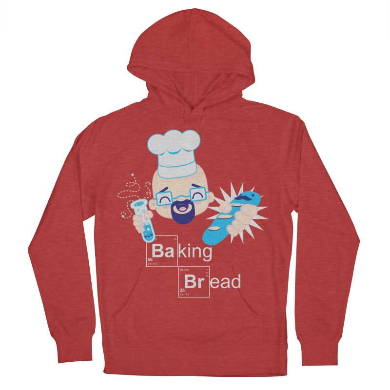 Baking Bread Women's French Terry Pullover Hoody by darkchoocoolat's Artist Shop