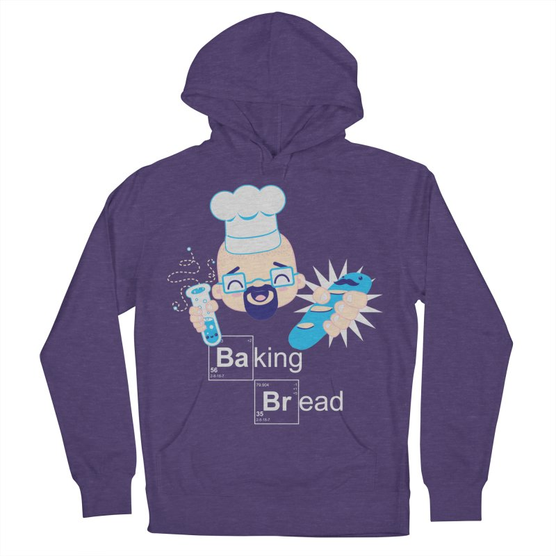 Baking Bread Men's French Terry Pullover Hoody by darkchoocoolat's Artist Shop