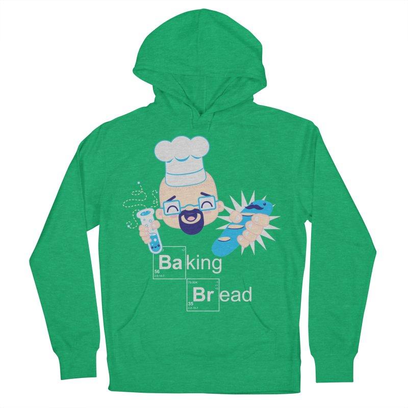 Baking Bread Men's French Terry Pullover Hoody by darkchoocoolat's Artist Shop