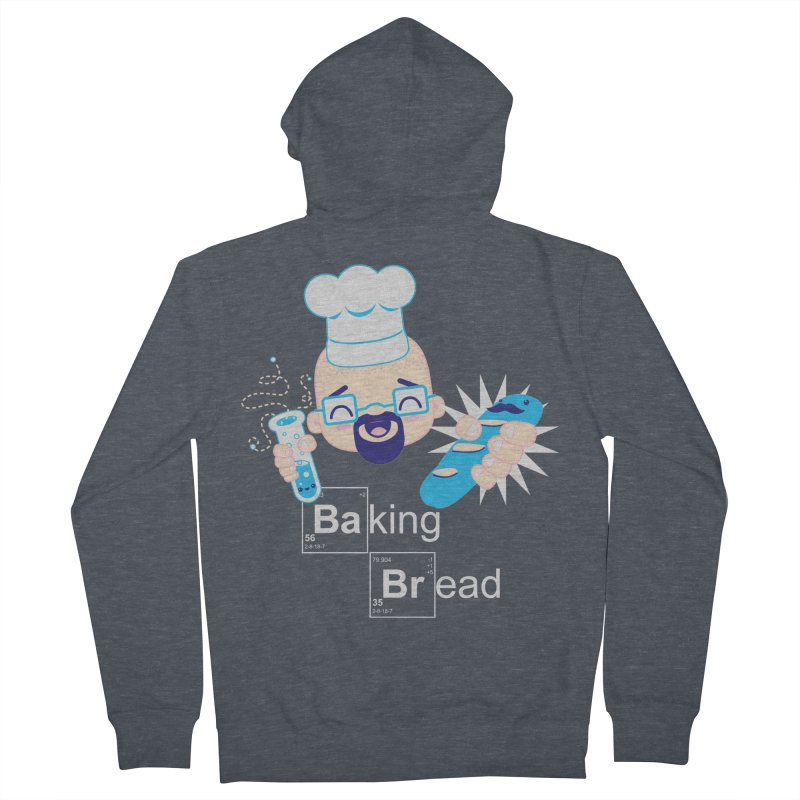 Baking Bread Men's Zip-Up Hoody by darkchoocoolat's Artist Shop
