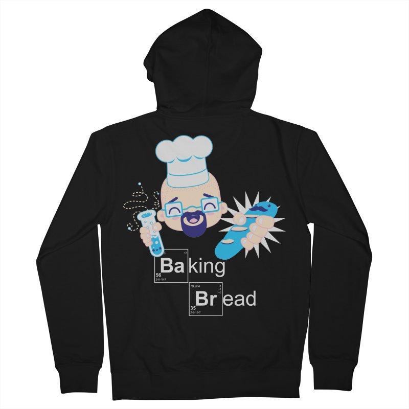 Baking Bread Men's Zip-Up Hoody by darkchoocoolat's Artist Shop
