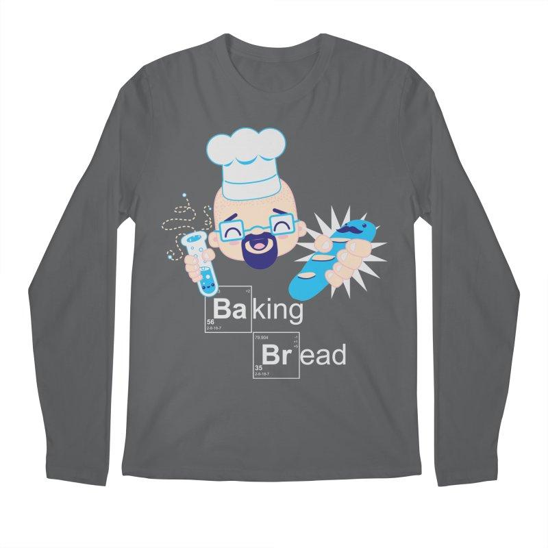 Baking Bread Men's Longsleeve T-Shirt by darkchoocoolat's Artist Shop