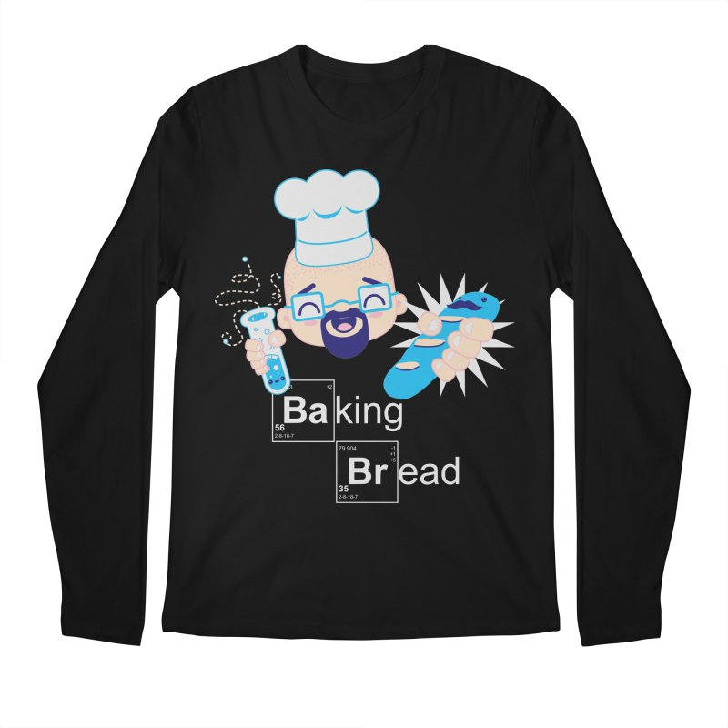 Baking Bread Men's Regular Longsleeve T-Shirt by darkchoocoolat's Artist Shop