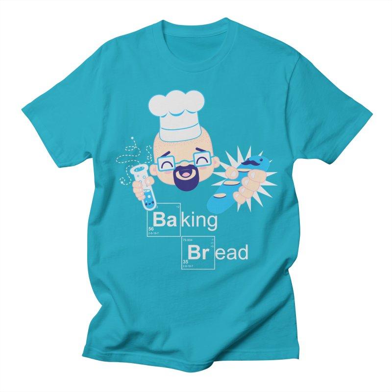 Baking Bread Women's Regular Unisex T-Shirt by darkchoocoolat's Artist Shop
