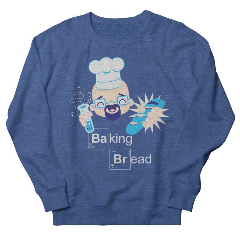 Baking Bread Women's French Terry Sweatshirt by darkchoocoolat's Artist Shop