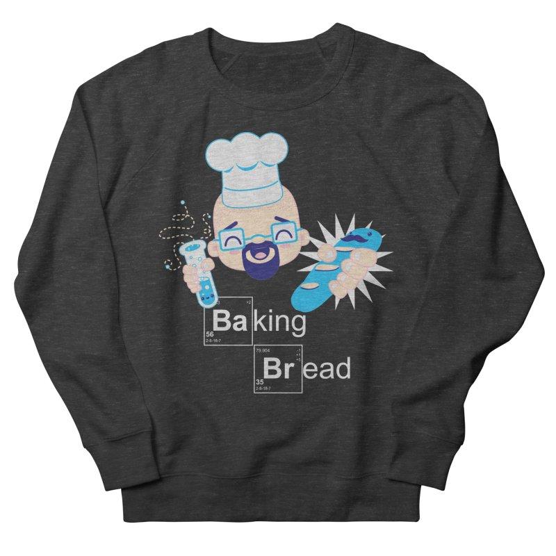 Baking Bread Men's French Terry Sweatshirt by darkchoocoolat's Artist Shop
