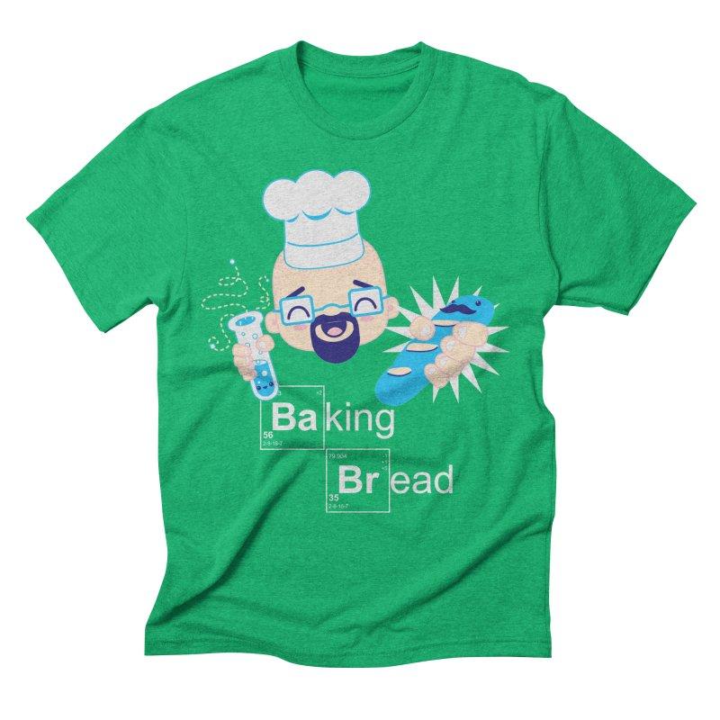 Baking Bread Men's Triblend T-Shirt by darkchoocoolat's Artist Shop