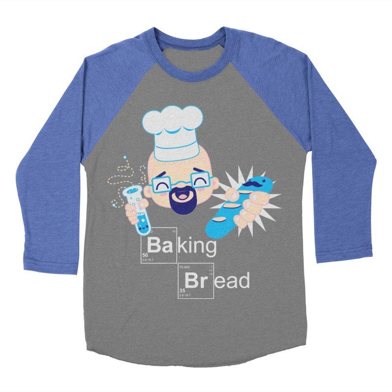 Baking Bread Women's Baseball Triblend T-Shirt by darkchoocoolat's Artist Shop