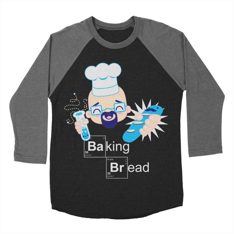 Baking Bread Women's Baseball Triblend Longsleeve T-Shirt by darkchoocoolat's Artist Shop