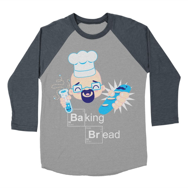 Baking Bread Men's Baseball Triblend Longsleeve T-Shirt by darkchoocoolat's Artist Shop