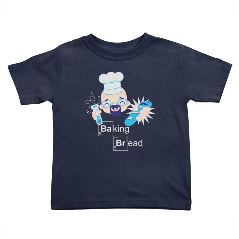 Baking Bread Kids Toddler T-Shirt by darkchoocoolat's Artist Shop