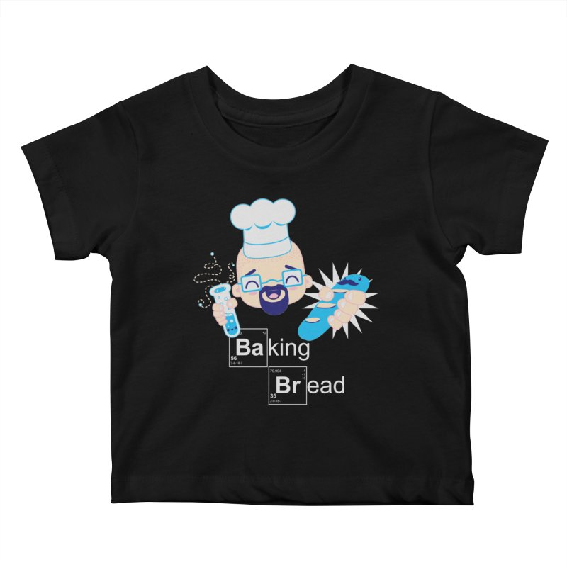 Baking Bread Kids Baby T-Shirt by darkchoocoolat's Artist Shop