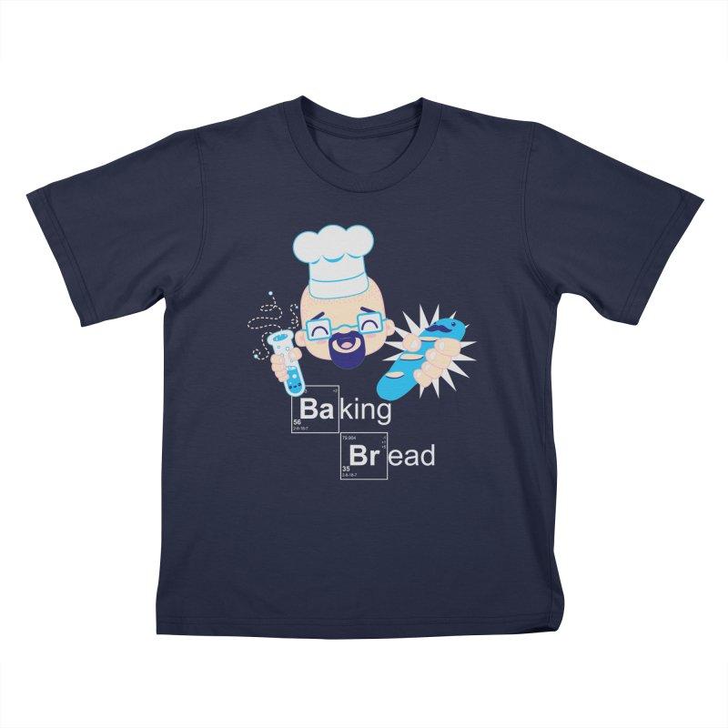 Baking Bread Kids T-Shirt by darkchoocoolat's Artist Shop