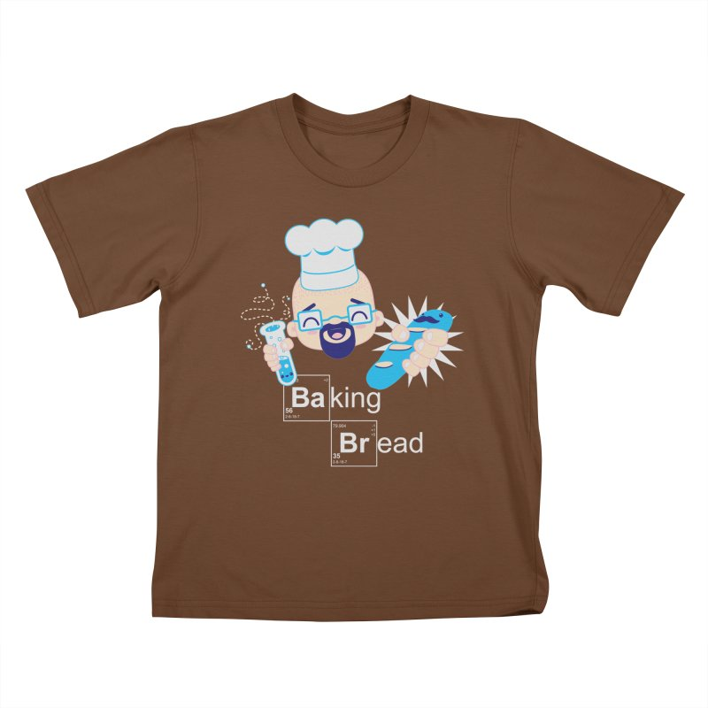 Baking Bread Kids T-Shirt by darkchoocoolat's Artist Shop