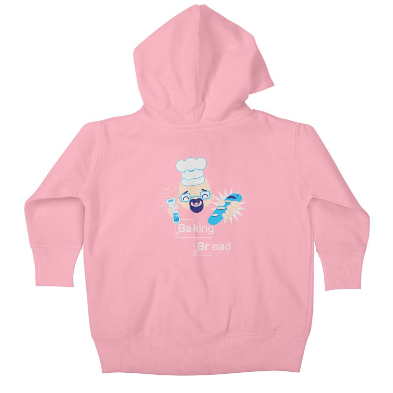 Baking Bread Kids Baby Zip-Up Hoody by darkchoocoolat's Artist Shop