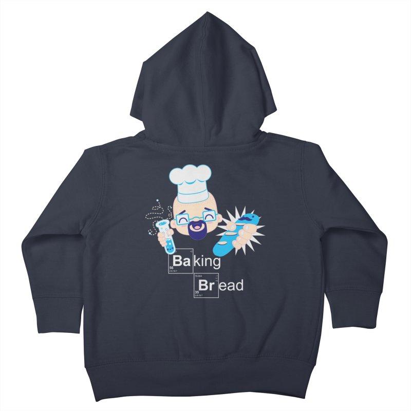 Baking Bread Kids Toddler Zip-Up Hoody by darkchoocoolat's Artist Shop
