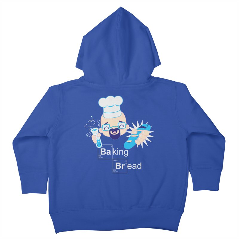Baking Bread Kids Toddler Zip-Up Hoody by darkchoocoolat's Artist Shop