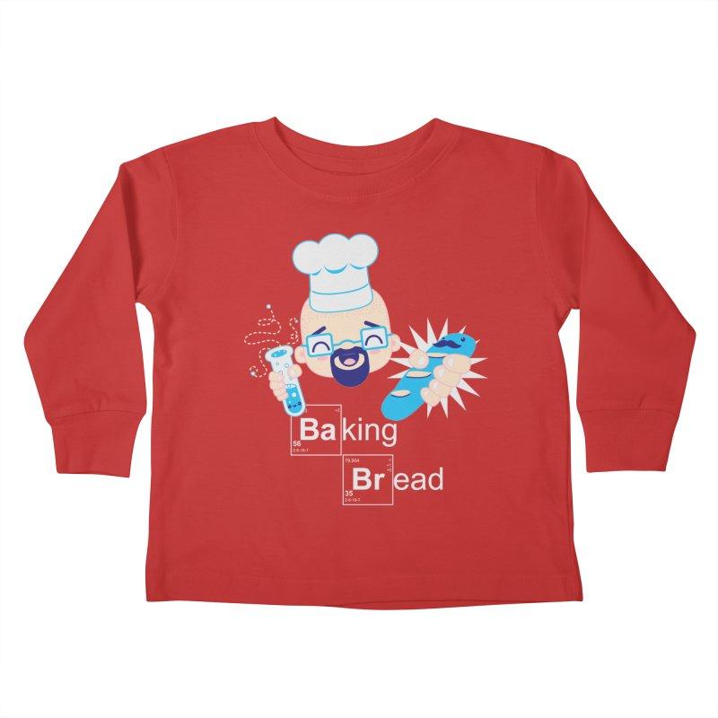 Baking Bread Kids Toddler Longsleeve T-Shirt by darkchoocoolat's Artist Shop