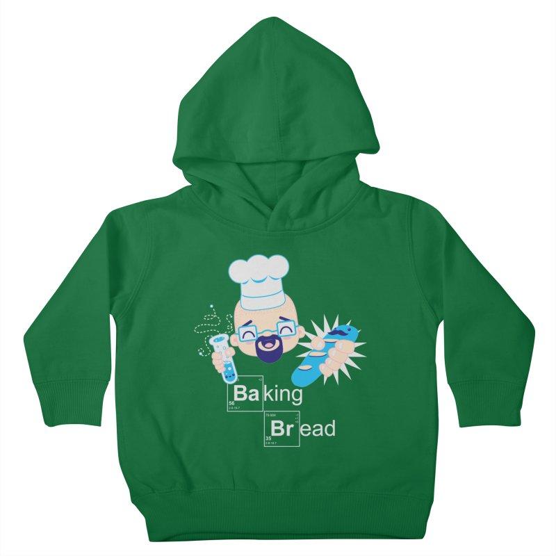 Baking Bread Kids Toddler Pullover Hoody by darkchoocoolat's Artist Shop
