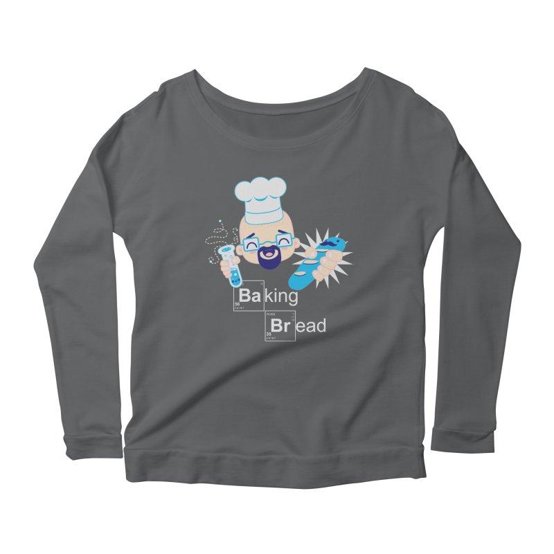 Baking Bread Women's Scoop Neck Longsleeve T-Shirt by darkchoocoolat's Artist Shop
