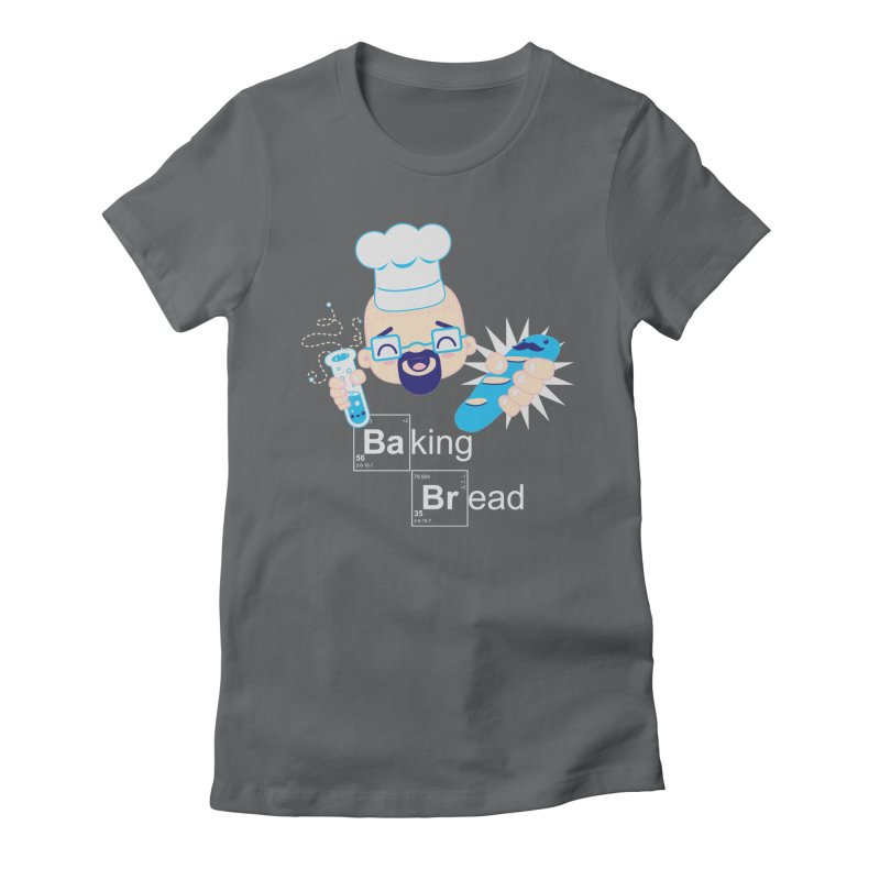 Baking Bread Women's Fitted T-Shirt by darkchoocoolat's Artist Shop