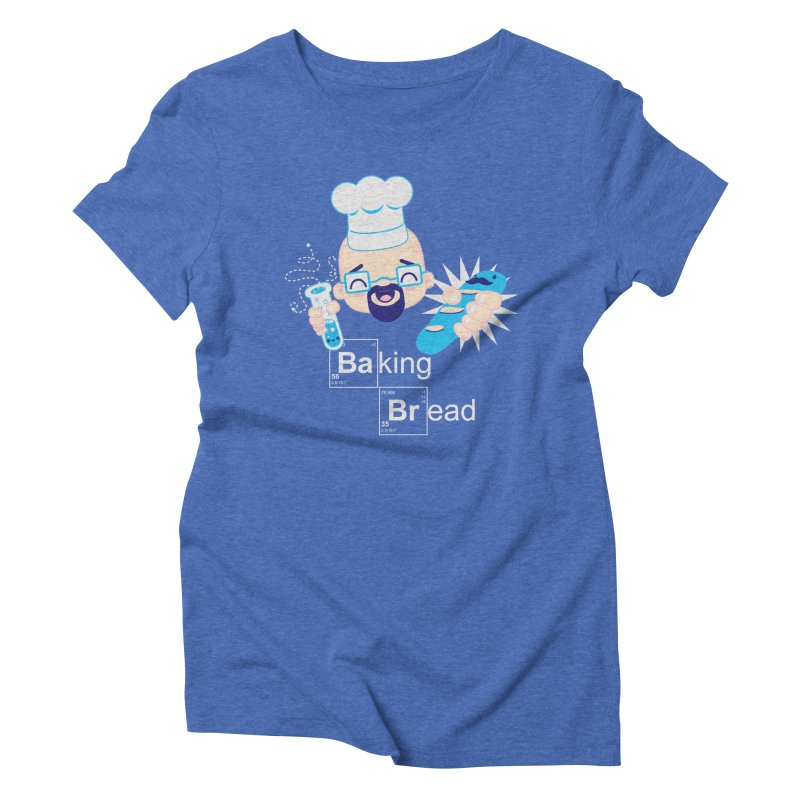 Baking Bread Women's Triblend T-Shirt by darkchoocoolat's Artist Shop